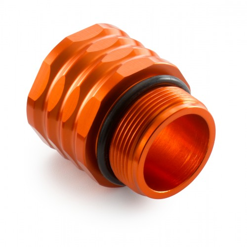 Footbrake cylinder extender